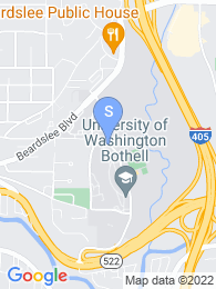 University of Washington Bothell map