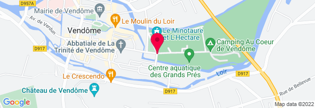 Map for Le Minotaure