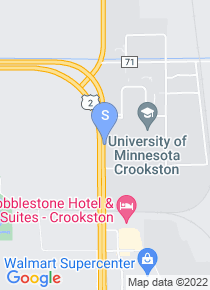 UM Crookston map