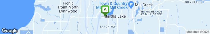 Map of Ashiya Teriyaki