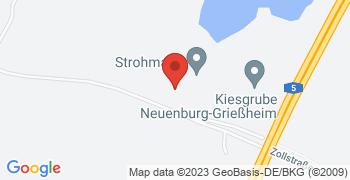Neuenburg-Grißheim - Google Map Karte