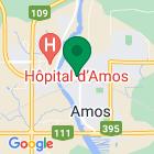 Localisation de la succursale de Valeurs mobilières Desjardins au Amos sur la carte Google