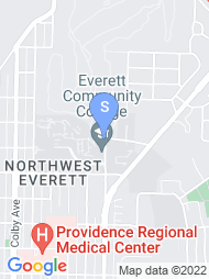 Everett Community College map