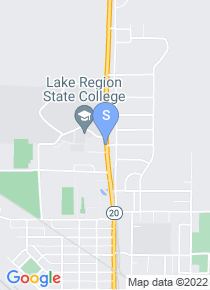 Lake Region State College map