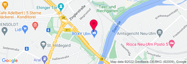 Map for Roxy - Kultur in den Hallen