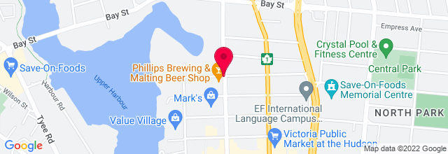 Map for Phillips Brewery