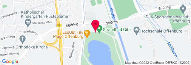 Map for Strandbad Gifizsee