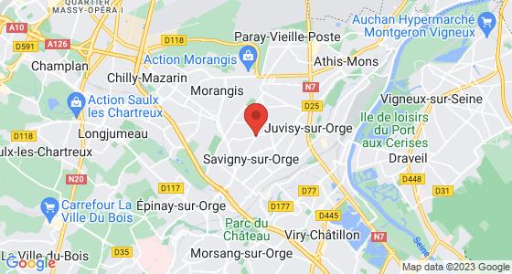 Plan savigny-sur-orge essonne