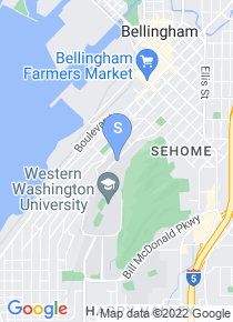 Western Washington University map