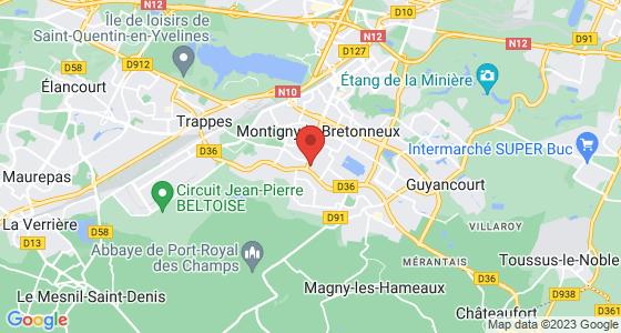 Plan montigny-le-bretonneux yvelines