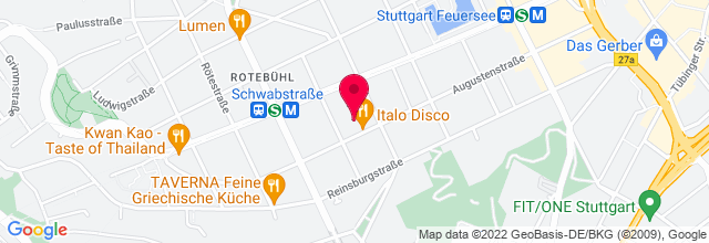 Map for Kulturzentrum Merlin