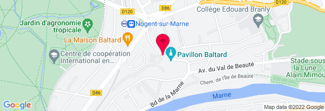 Map for Pavillon Baltard