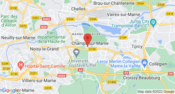 Plan champs-sur-marne seine-et-marne