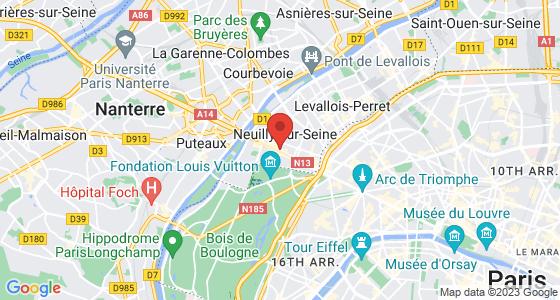 Plan neuilly-sur-seine hauts-de-seine