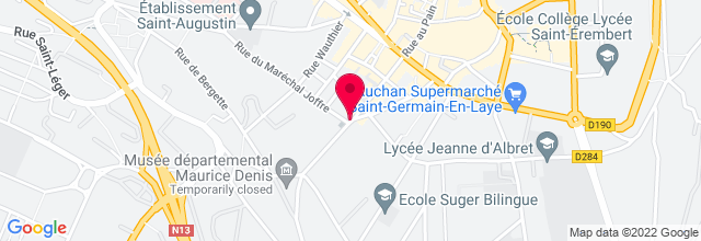 Map for La Clef