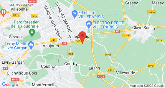 Plan villeparisis seine-et-marne