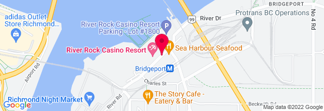 Map for River Rock Casino