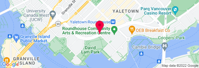 Map for David Lam Park