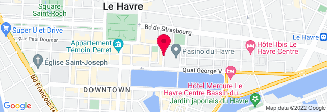 Map for Le Pasino Du Havre