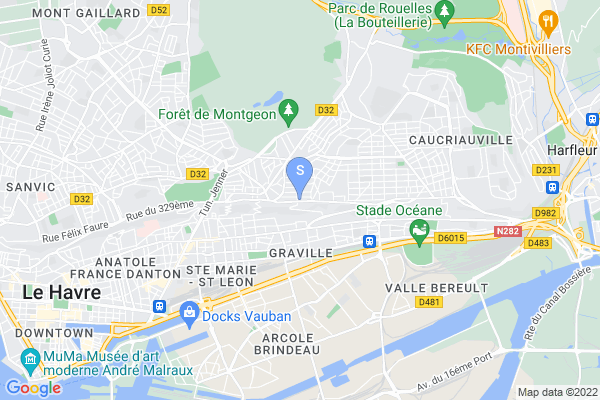 carte - Havre Athletic Club
