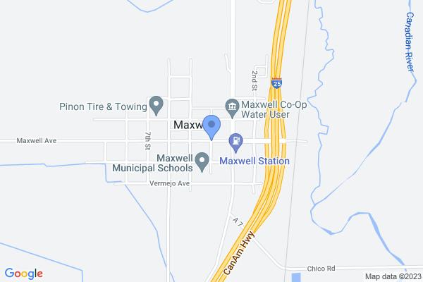 4th Street, Maxwell, NM 87728, USA