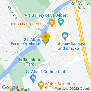 Map to Arden Theatre provided by Google