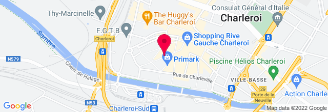 Map for Le Coliseum de Charleroi