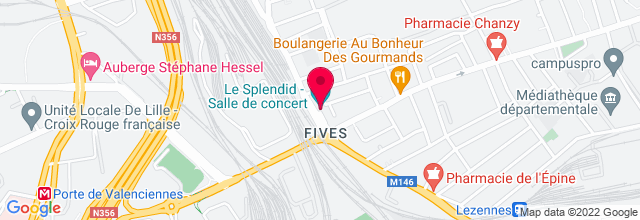 Map for Le Splendid