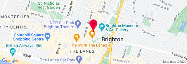 Map for Brighton Dome