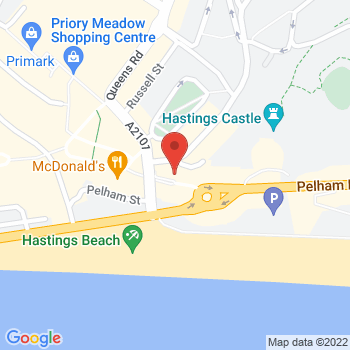 Argos Hastings Location on map