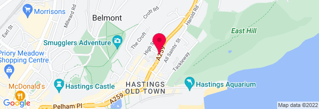 Map for The Stables Theatre & Arts Centre