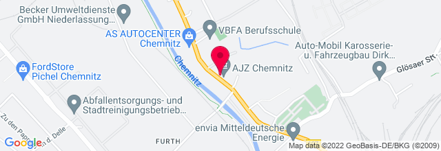 Map for Autonomes Jugendzentrum Talschock