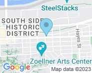 Lehigh Shoe & Leather Repair Map