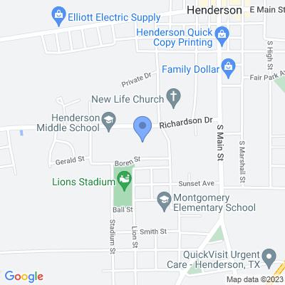 501 Richardson Dr, Henderson, TX 75654, USA