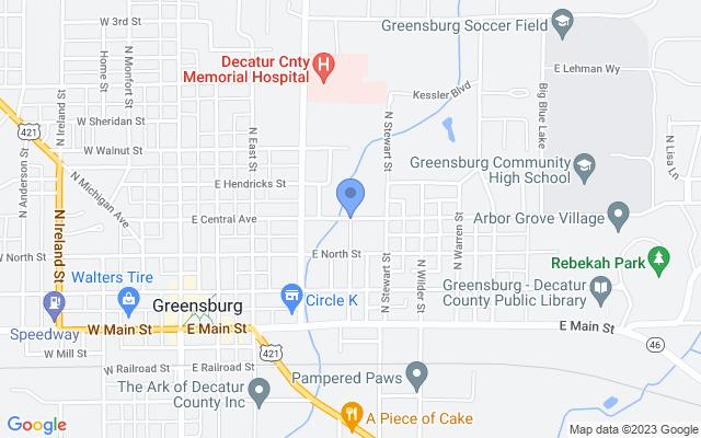 501-599 E Central Ave, Greensburg, IN 47240, USA