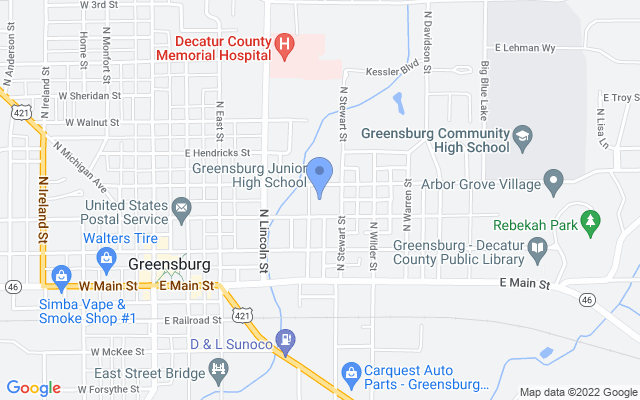 505 E Central Ave, Greensburg, IN 47240, USA
