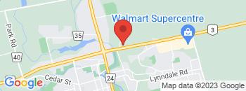 Google Map of 51+Queensway+East%2CSimcoe%2COntario+N3Y+4M5