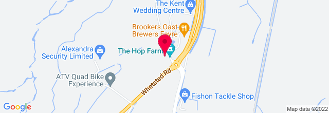 Map for The Hop Farm