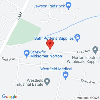 Avon & Wessex Location on map