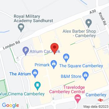 Argos Camberley Location on map
