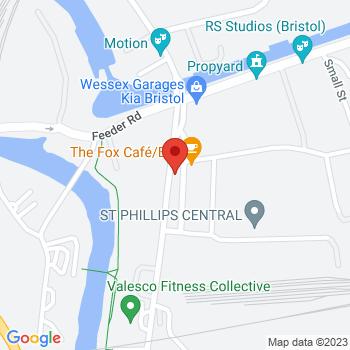 Bristol Gas Supplies Ltd Location on map