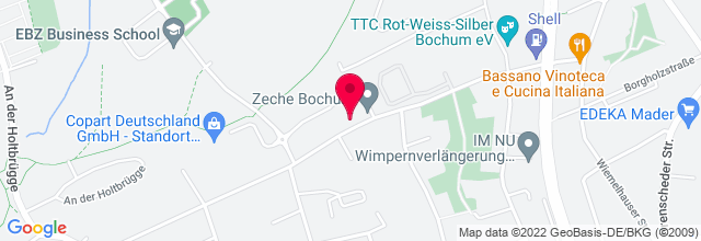 Map for Zeche