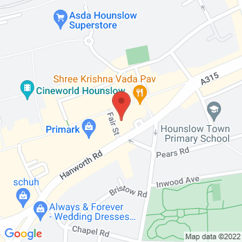 Argos Hounslow London Location on map