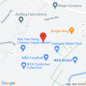 Halfords Bristol Eastgate Location on map