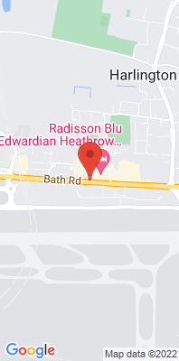 Map showing the location of the Heathrow Bath Road monitoring site