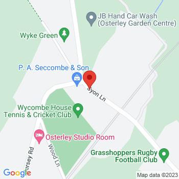P.A.Seccombe & Son Ltd Location on map