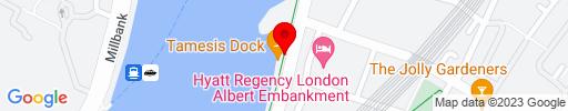 Map of Tamesis Dock