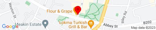 Map of Flour & Grape