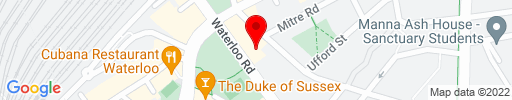 Map of Waterloo Bar and Kitchen