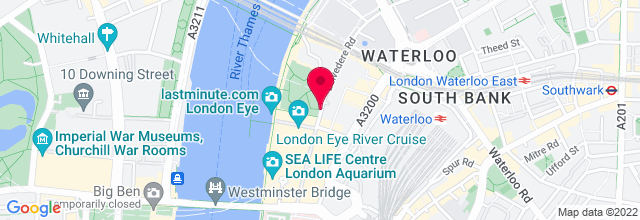 Map for Royal Festival Hall, Southbank Centre